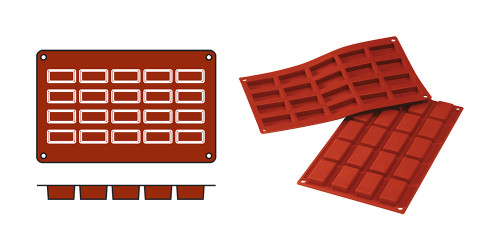 EMGA Mould Financiers (cap.20pce.)