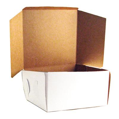 CK Cake Box 16X16X6 (White)