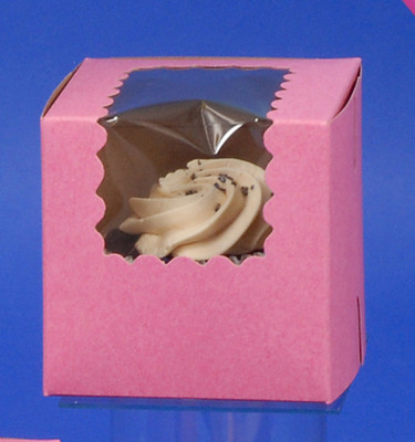 CK Cupcake Box w/wind STRw 4x4x4